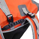 Рюкзак спортивный водонепроницаемый Jungle King 45L оранжевый, фото 5