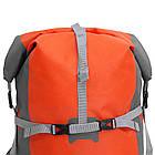Рюкзак спортивный водонепроницаемый Jungle King 45L оранжевый, фото 6