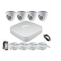 Комплект видеонаблюдения из 4-х камер и видеорегистратора Longse LS-N2004PDF2S200