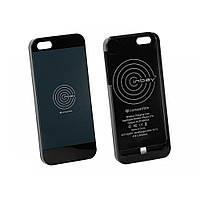 Чехол 240000-20-02 для беспроводной зарядки Inbay для iPhone 5/5S black