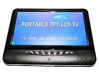 """Портативный телевизор 9,5"""" USB+SD+пульт"""