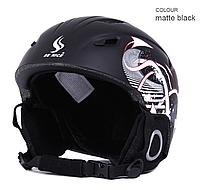 Горнолыжный / сноубордический шлем BENICE (Matte Black)  L (59-62 см)