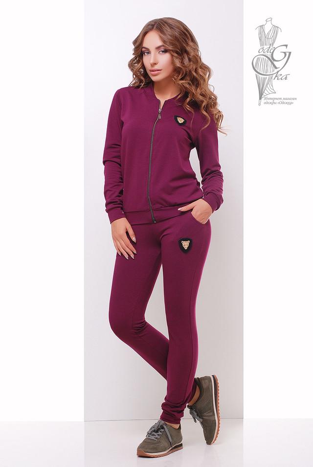 Цвет Марсала Женского спортивного костюма Прада