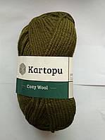 Полушерстяная Kartopu Cozy Wool 410