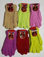 Женские перчатки одинарные, махровые. В упаковке 12 пар.