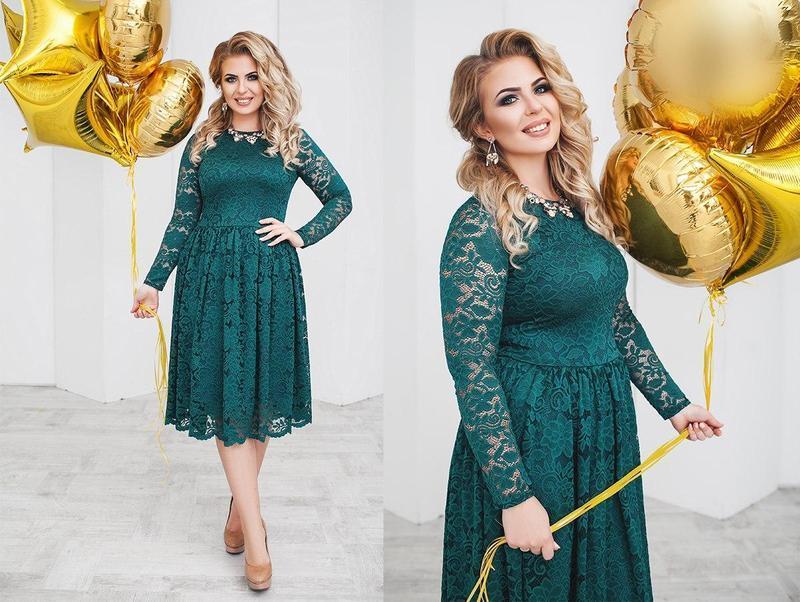 bf358aec29c98bf Элегантное вечернее платье с пышной юбкой в больших размерах