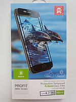 Защитное стекло Baseus Iphone 7Plus/8Plus silk screen printed (White), фото 1