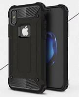 """Бронированный чехол Immortal для Apple iPhone X (5.8"""") (черный)"""