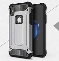 """Бронированный чехол Immortal для Apple iPhone X (5.8"""") (серый)"""