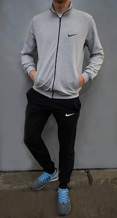 Спортивный костюмNike - брюки на манжетах и кофта на застежку, фото 2