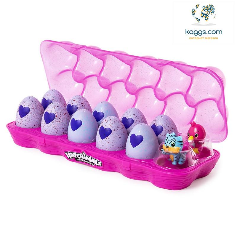 Hatchimals: лоточок з дванадцятьма колекційним фігурками в яйцях