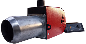 Факельная пеллетная горелка Swag 50 кВт