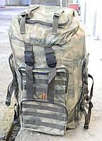 Рюкзак камуфляжный Хаки Т-65 шеврон на липучке