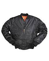 Куртка пилот Mil-Tec MA1® Style black