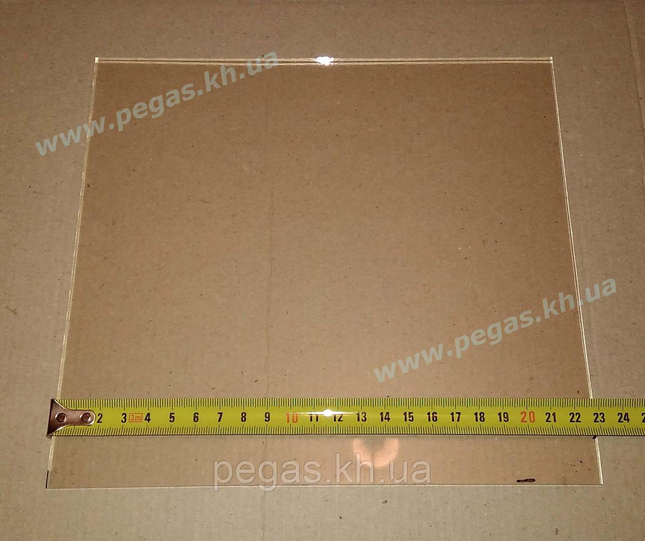 "Огнеупорное жаропрочное стекло ""Robax"", Германия (210х230 мм)"