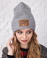 Стильная зимняя женская шапка - Urban Style - Арт olna