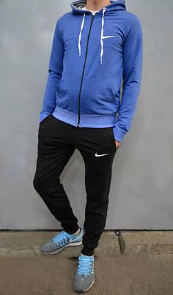 5a848296 Спортивный костюм Nike (Найк), кофта с капюшоном, брюки на манжетах,  трикотаж
