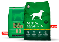 NUTRA NUGGETS Performanсe  1кг корм для собак с средней активностью (зеленый) (шт.)