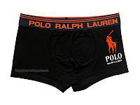 Мужские трусы боксёры Polo Ralph Lauren чёрные