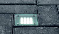 Светодиодный светильник в брусчатку