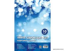 Набор белого картона А4 10 листов Cool For School (CF21000)