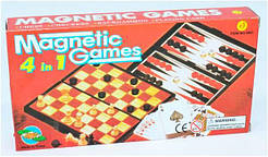 Шахматы 4в1 (9841)