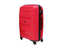Антиударный пластиковый чемодан среднего размера New Line Grypton 4670