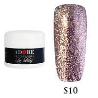 Гель Star Shine №10 (светлый розовый кварц) Adore Professional, 5 мл