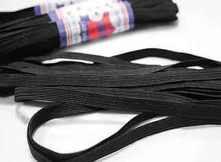 Резинка бельевая черная 1см, 4м