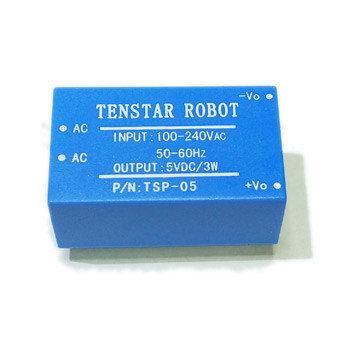 Модуль питания AC-DC TSP-05 220В - 5В 3Вт изолированный