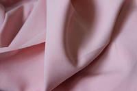 Ткань креп костюмка барби нежно розовая