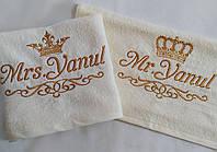 Полотенце с вышивкой Корона (40*70 для лица), фото 1