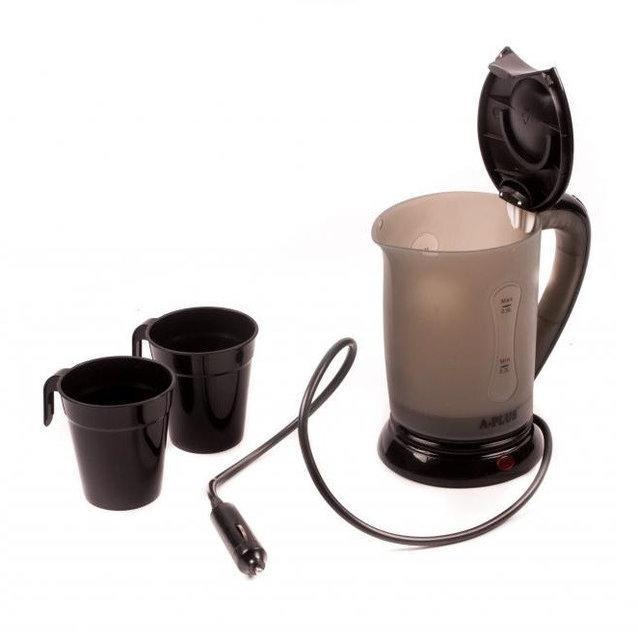 Автомобильный чайник от прикуривателя 12 Вт. А-Плюс (авточайник )