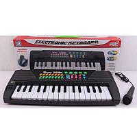 Музыкальная игрушка синтезатор с микрофоном TLF-005USB, 32 клавиши