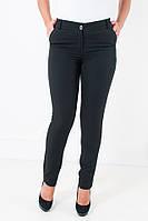 Зауженные женские брюки Миранда черного цвета