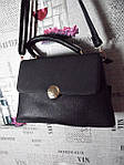 Стильная черная женская сумка , фото 4