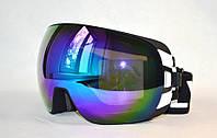 Горнолыжная, лыжная, сноуборд маска (очки) HB-188 черно-белая