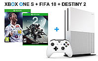 Xbox One S 500GB + FIFA18+Destiny 2