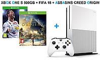 Xbox One S 500GB + FIFA 18+ Assassins Creed Origins