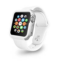 Чехол OZAKI O!coat для Apple Watch 38cm-Shockband Case White