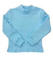Теплая детская водолазка на манжете для мальчика