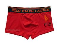 Мужские трусы боксёры Polo Ralph Lauren красные