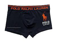 Мужские трусы боксёры Polo Ralph Lauren темно-синие