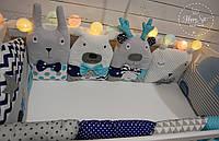 Бортики,захист в ліжечко 1473