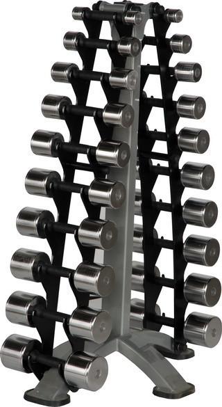 Стійка з набором гантелей 1-10 кг Vasil Neo Gym B.978