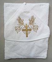 Полотенце для крещения для новорожденных Турция оптом, фото 1
