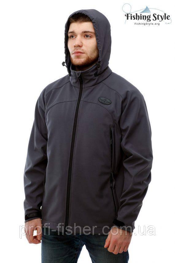 """Куртка мембранная демисезонная Fishing Style Dynamic Offence Jacket """"Серая"""""""