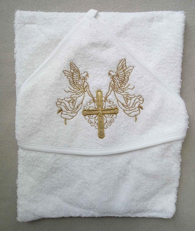 Полотенце для крещения для новорожденных Турция оптом