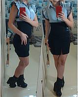 Платье Леди Офис18064 черный 48р