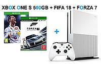 Xbox One S 500GB + FIFA18+Forza7